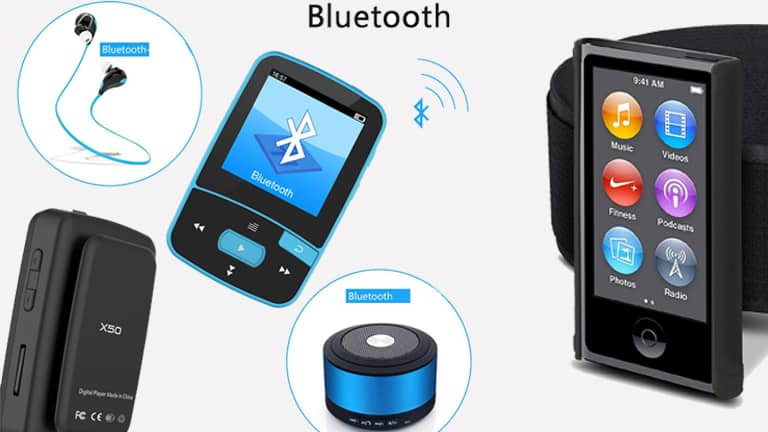 top 10 best bluetooth mp3 players in 2018 portable music. Black Bedroom Furniture Sets. Home Design Ideas