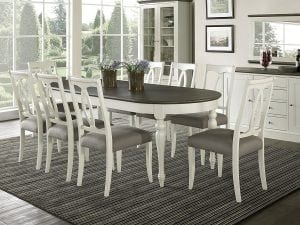 Coastlink Vegas 9 Piece Oval Extension Dining Table Set