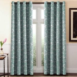 H.Versailtex Traditional Country Style Pattern Blackout Curtains