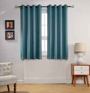 MYSKY HOME Solid Window Blackout Curtains