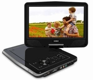 "SYNAGY 10.1"" Portable DVD Player"