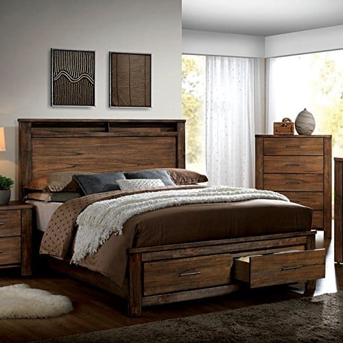 Elkton Oak King Size Bedroom Set