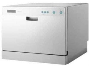 Midea 6-Place Setting Countertop Dishwasher