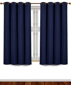 Utopia Grommet Top Blackout Curtains