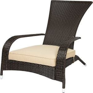 Wicker Adirondack Chair