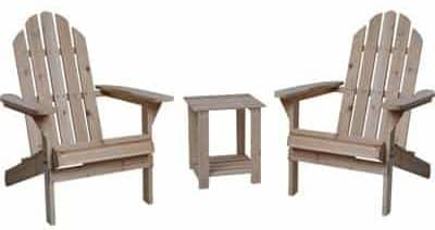 Fir Wood High Quality Adirondack Chairs