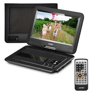 "UEME 10.1"" Portable CD/DVD Player"