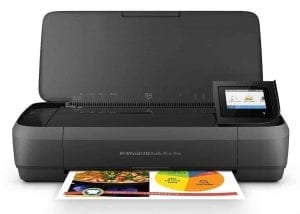 HP OfficeJet 250 Mobile Wireless Portable Printer