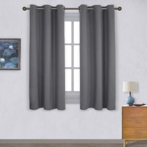 NICETOWN Grommet Blackout Curtains