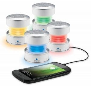 iHome iM59WC Rechargeable Color Changing Mini Speaker