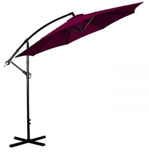 Cloud Mountain 10 Ft Cantilever Patio Umbrella