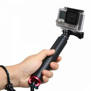 LENDOO Extendable Pro Pole Adjustable Selfie Stick