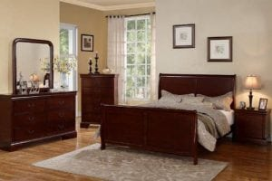 Louis Phillipe King Size Bedroom Set