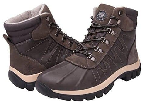 KINGSHOW Men's Water Resistance Shoes