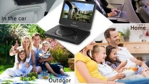 Top 10 Best Portable DVD Players in 2017