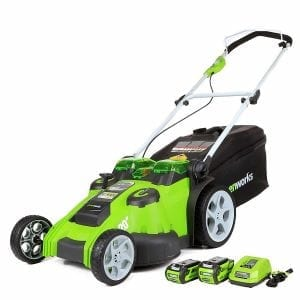 GreenWorks 25302 G-MAX Cordless Lawn Mower