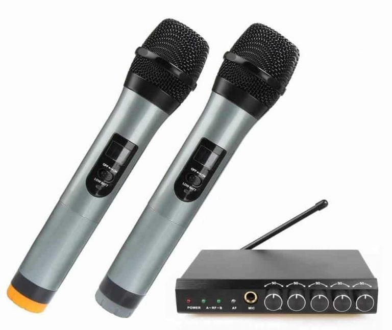 ARCHEER Bluetooth Wireless Microphone System
