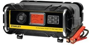 STANLEY Bench Battery Charger with 75 Amp Engine Start