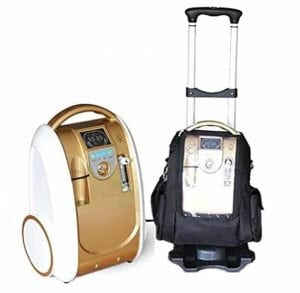 Merlilive Portable Oxygen Concentrator Air Purifier