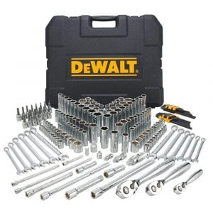 DEWALT DWMT72165 204 Piece Mechanics Tool Set