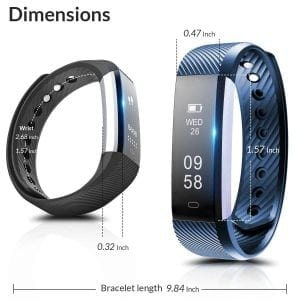 Fitness Tracker, Coffea C2 Activity Wristband Bluetooth Wireless Smart Bracelet