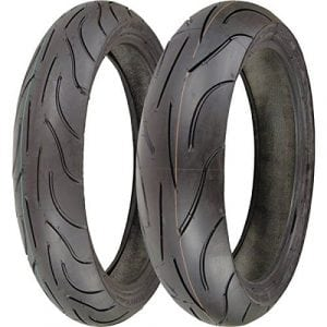Michelin Pilot Power 120/70zr17 & 180/55zr17 180 55 17 120 70 17 2 Tire Set