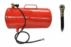 Portable Air Compressor Tank with Gauge