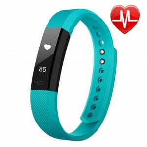 Fitness Tracker HR, Letscom Fitness Tracker Watch with Heart Rate Monitor