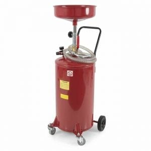 ARKSEN 20 Gallon Portable Waste Oil Drain Tank Air Operated