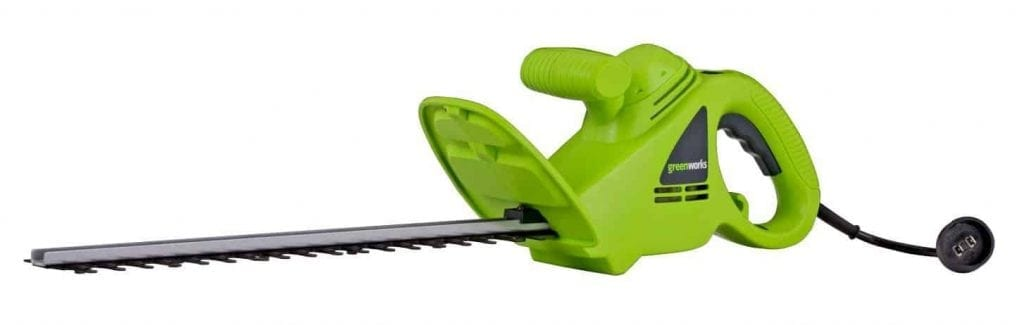 GreenWorks 22102 2.7 Amp 18-Inch Corded Hedge Trimmer