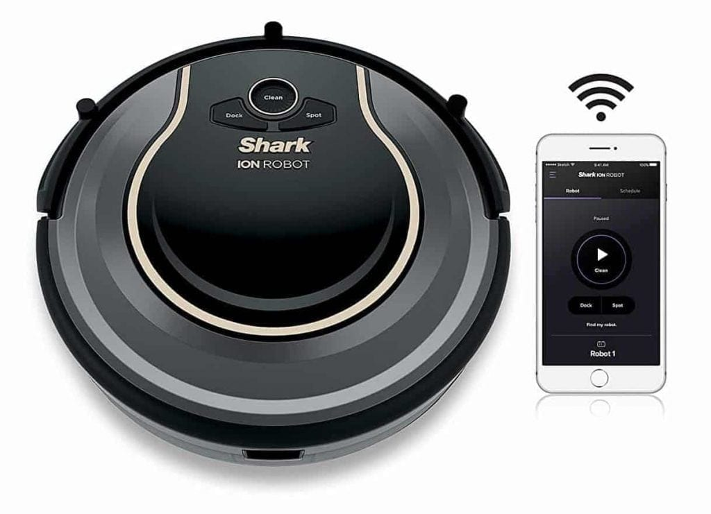 Shark ION ROBOT Vacuum with Wi-Fi Connectivity + Voice Control