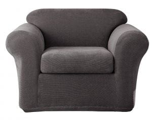 Sure Fit Stretch Metro 2-Piece - Chair Slipcover