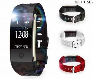 X-CHENG Fitness Tracker - IPX7 Waterproof OLED Touch Screen