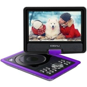 "COOAU 11.5"" Portable DVD Player"