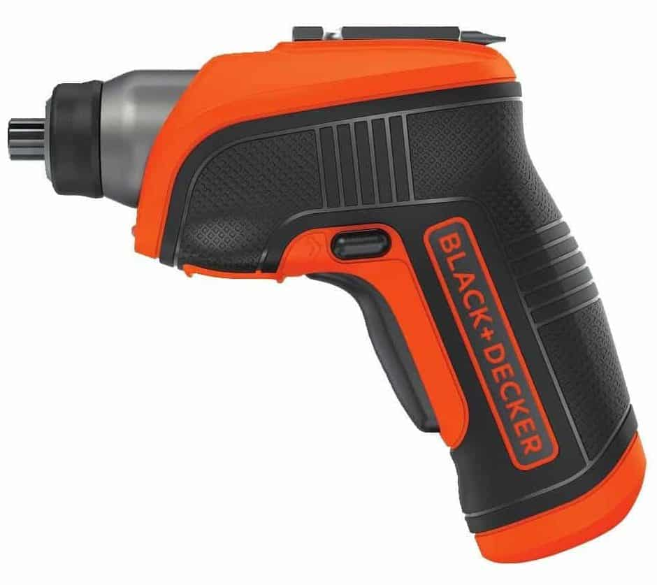 BLACK+ DECKER BDCS30C 4-Volts MAX Lithium-Ion Cordless Rechargeable LED Screwdriver