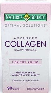 Nature's Bounty Optimal Solutions Collagen