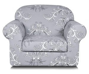 TIKAMI 2-Piece Spandex Printed Fit Stretch Sofa Slipcovers