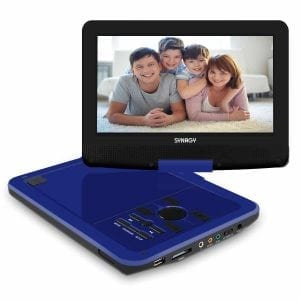 SYNAGY 10.1 inch Portable DVD Player