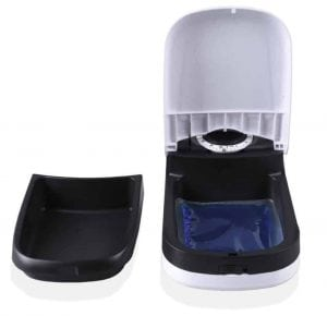 Automatic Pet Feeder WOpet Dog Cat Feeder Bow