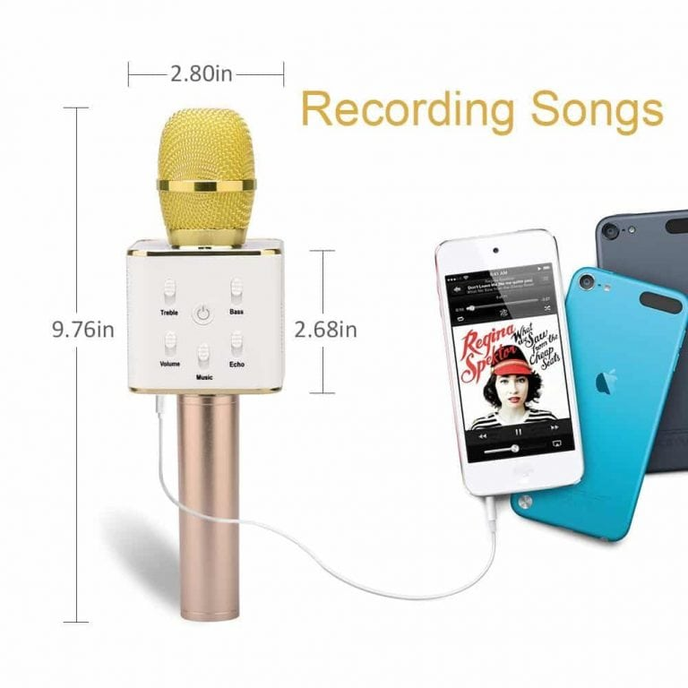 BONAOK Updated Wireless Karaoke Microphone