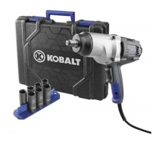 Kobalt 120-Volt Corded Impact Wrench