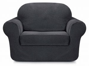 Subrtex 2-Pieces Spandex Stretch Sofa Slipcover
