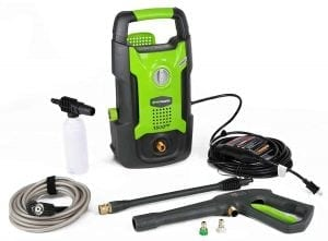 GreenWorks GPW1501 13 amp 1500 PSI 1.2 GPM Electric Pressure Washer