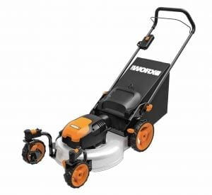 WORX WG719 Caster Wheeled Electric Lawn Mower
