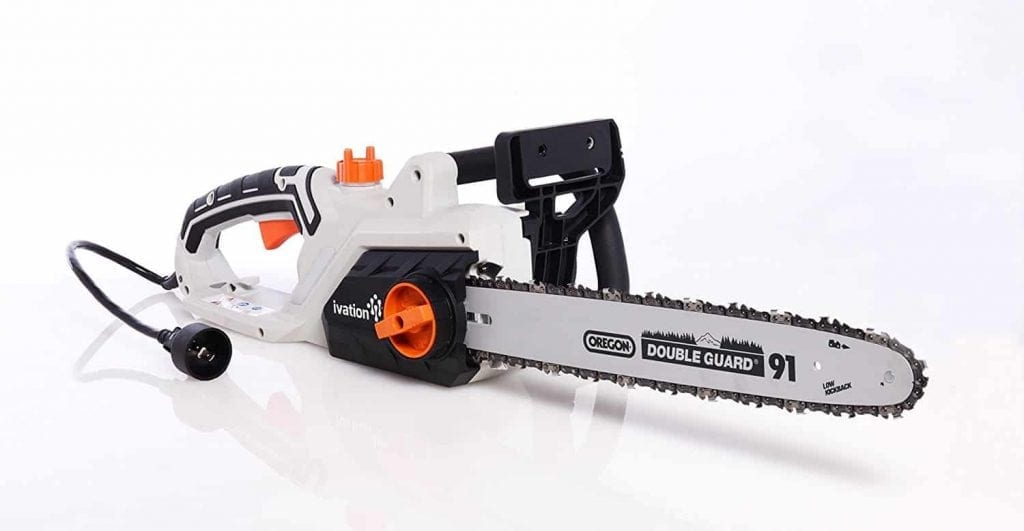 Ivation 16-Inches 15.0 AMP Electric Chainsaw