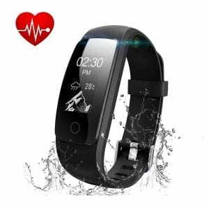 LOLG Fitness Tracker, Waterproof Activity Tracker with Heart Rate Monitor