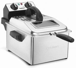 Cuisinart CDF-200 Stainless Steel Deep Fryer
