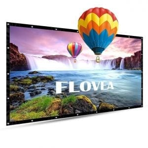 Flovea 84 inch portable projection screen