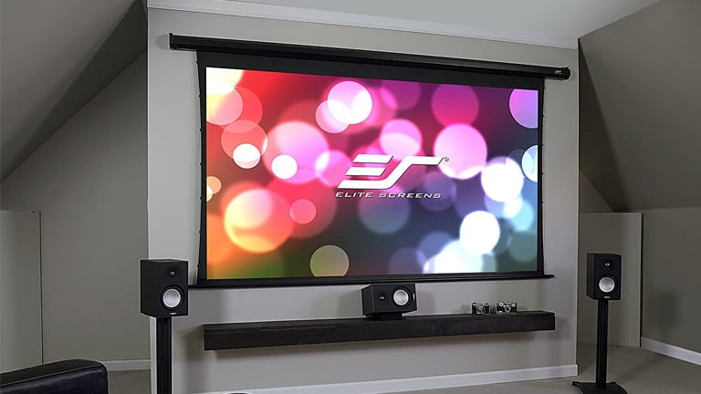 top 10 best motorized projector screens in 2018