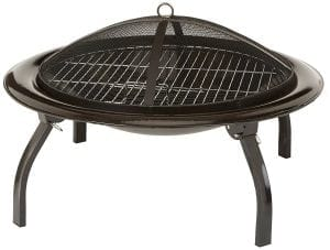 AmazonBasics 26-Inch Portable Folding Fire Pit